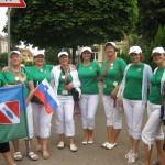 Sprehod po Gothi s slovenko in ribniško zastavo