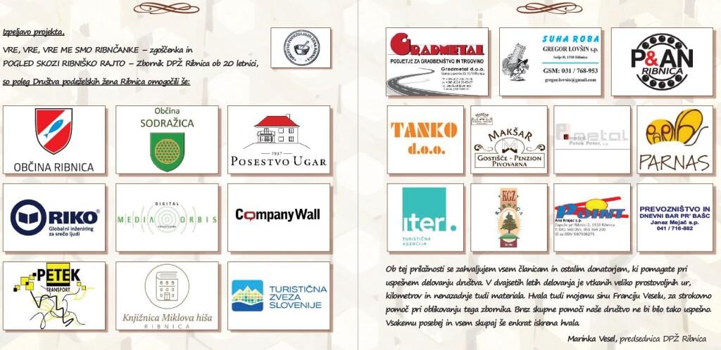 Sponzorji in donatorji